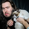 Andrew WK meets Grumpy Cat. The internet survives somehow