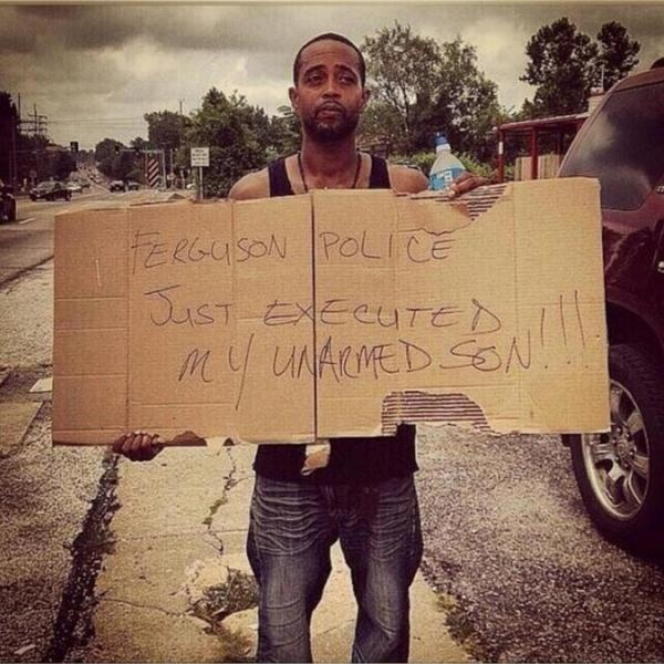 Ferguson Police Killed My Son