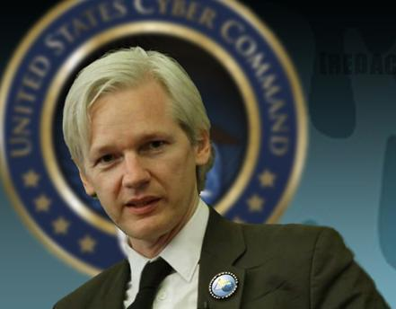 Julian Assange Has a Halo
