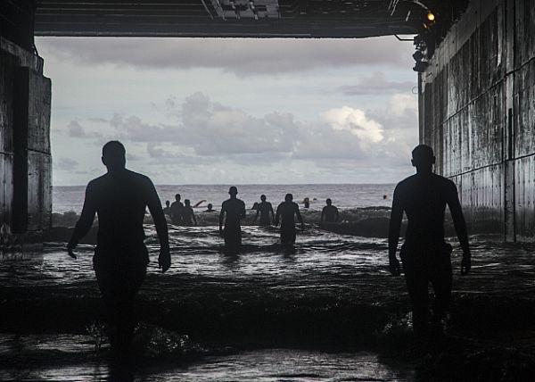 Swim Call via America's Navy