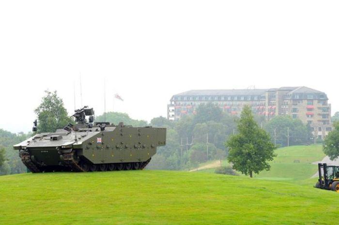 Golf Tank