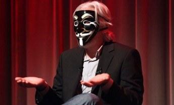 Julian Assange Black Mask
