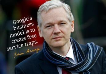 Julian Assange on Google