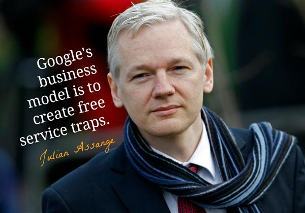 Julian Assange on Google