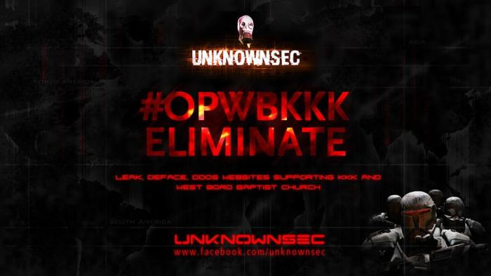 Unknownsec announces OpWBKKK