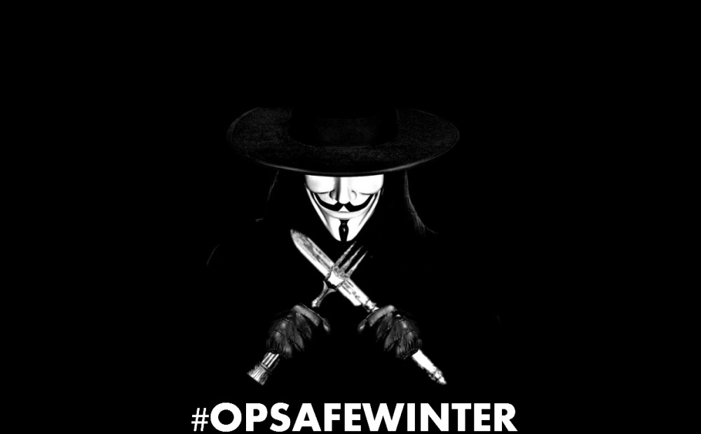 #Anonymous re-launches #OpSafeWinter for the Homeless (1/2)