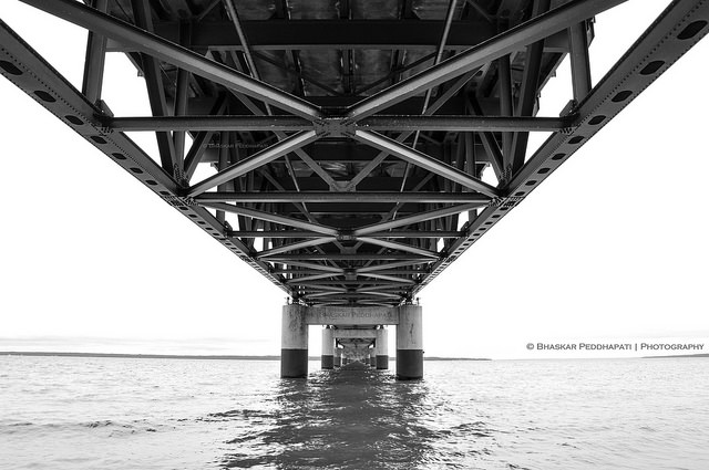 Under the Bridge by Peddhapati on Flickr