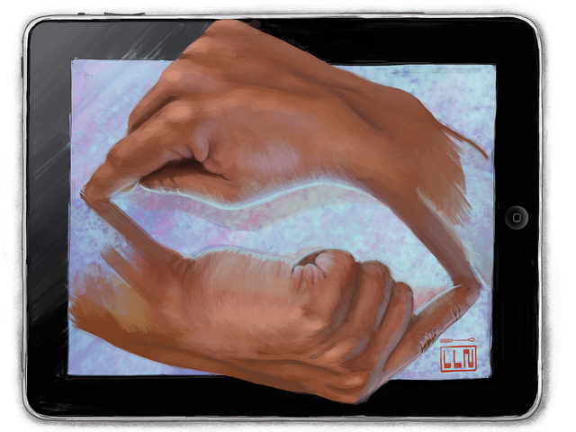 Escher on iPad