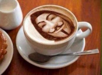AnonCoffee. Up and at the barricades!