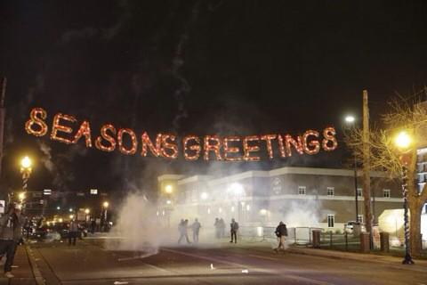 Season's Greetings from Ferguson, Missouri