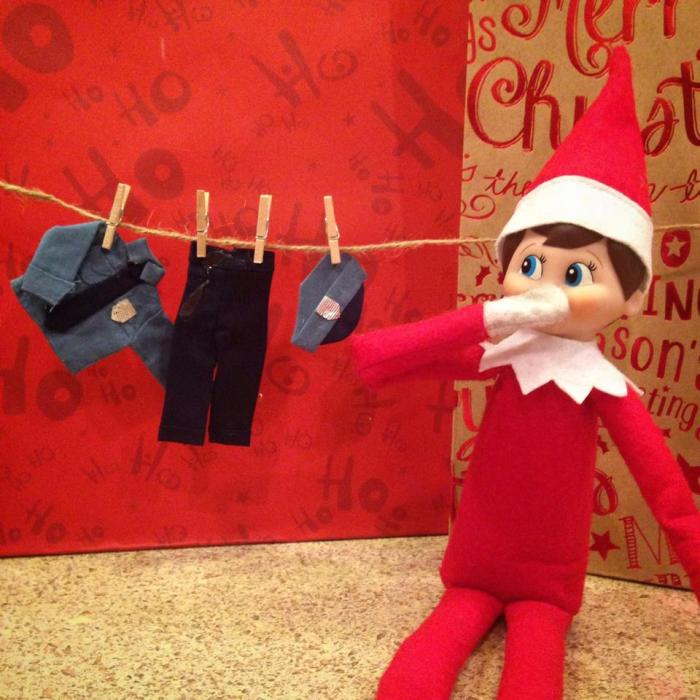 Elf on the Shelf and in the NSAs back pocket