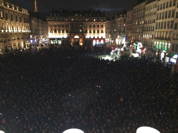Charlie Hebdo Demonstration in France