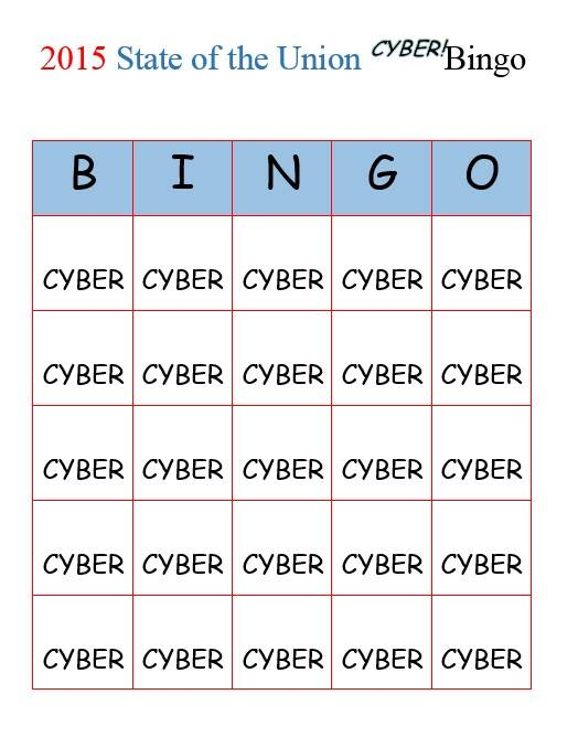 Cyber-Bingo via Sara Jfry on Facebook