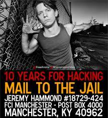 Jeremy Hammond mail to the jail
