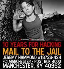 Jeremy Hammond mail to the jail