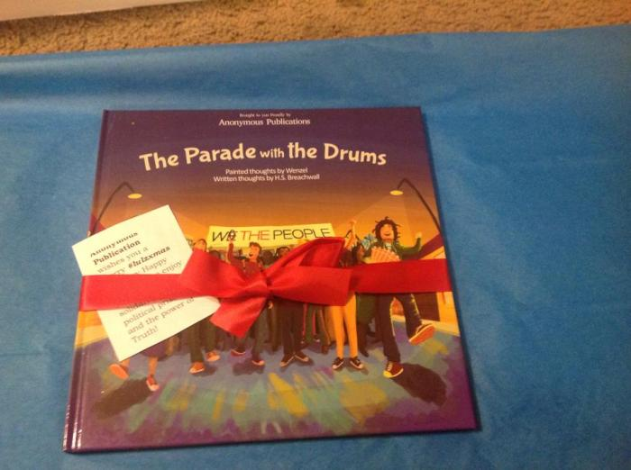 The Parade with the Drums giftwrapped