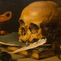 Still Life with a Skull and a Writing Quill by Thomas Hawk on Flickr