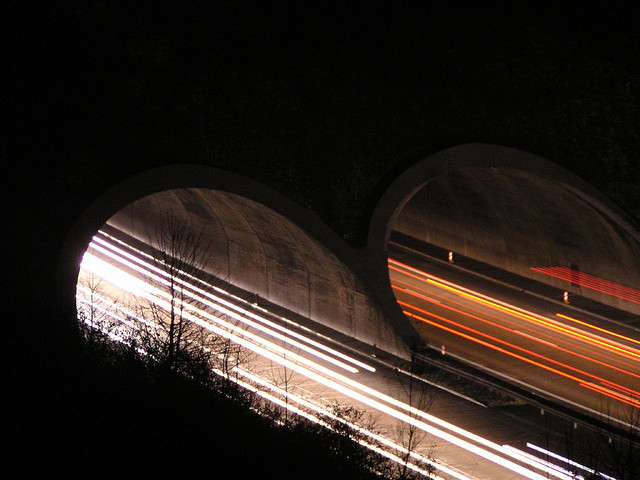 Highway Lights by Dirk Gently on flickr