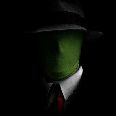 anonymous green man -#main