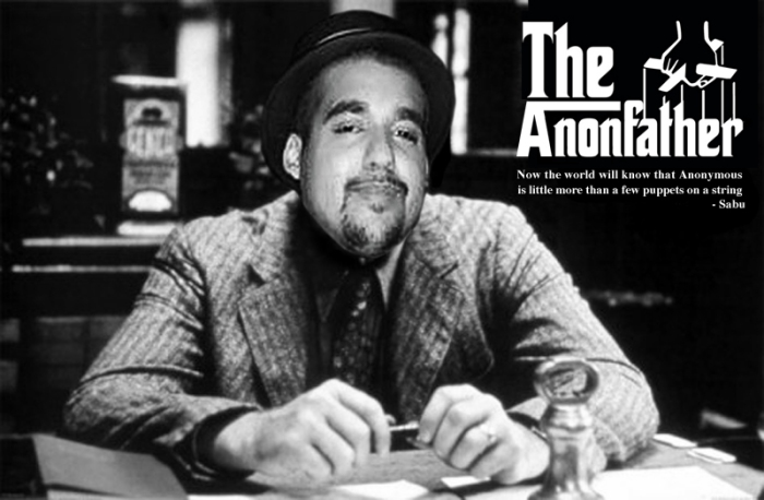 Sabu the Anonfather by @ExiledSurfer