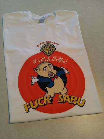 Sabu Warn A Brother Tee