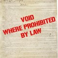 Void where prohibited by law by Chuck Coker on Flickr