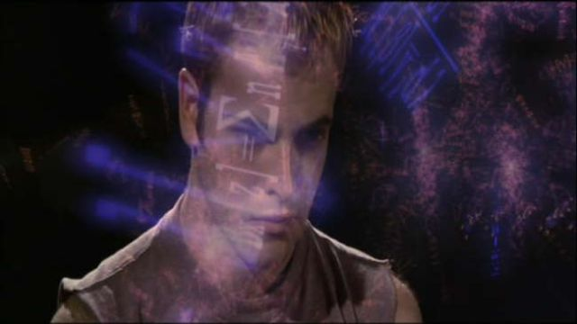 Dade Murphy (Jonny Lee Miller) from Hackers (1995): ''