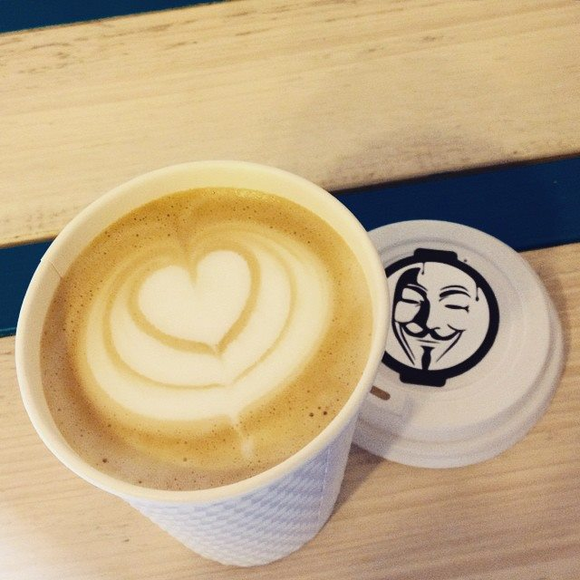 Anonymous Coffee via Anonymous Coffee on Facebook