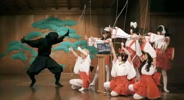 Japanese Norton AntiVirus Commercial, that's the virus on the left if you couldn't tell. Via FaithIsTorment on Pinterest