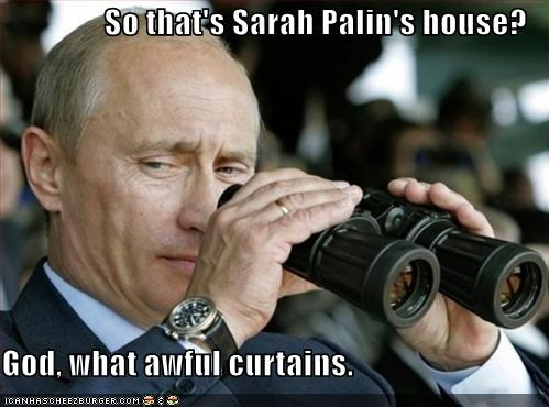 Putin takes aim at Alaska via Icanhascheezburger