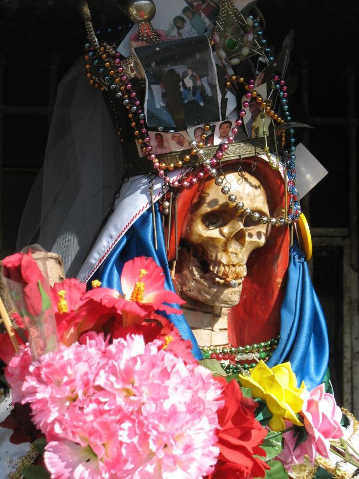Santa Muerte via Wikimedia