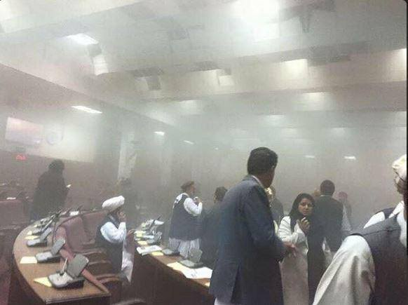 Taliban attack on Afghan Parliament via TRACTerrorism on Facebook