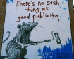 Banksy Rat NYC No Such Thing As Good Publicity