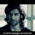 Aaron Swartz, you kill the messengers, but not the truth. Via SchemataTheory on Twitter