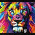 Deepdream Lion via DeepdreamBot on Twitter