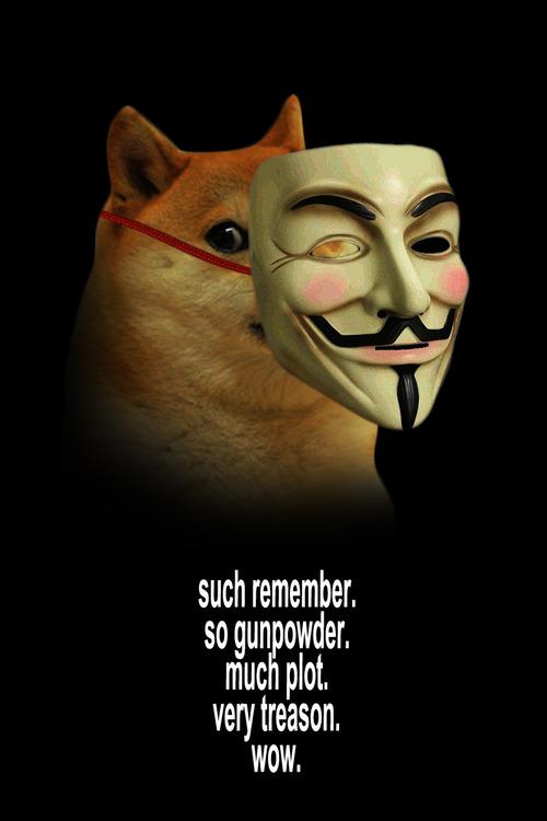Doge Fawkes via Rebloggy