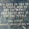 Saul Alinsky on Labour Day via Buzzquotes