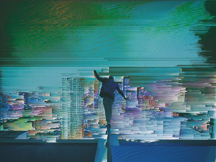 Glitch Walk by Nino Farina in Glitch Artists' Collective on Facebook