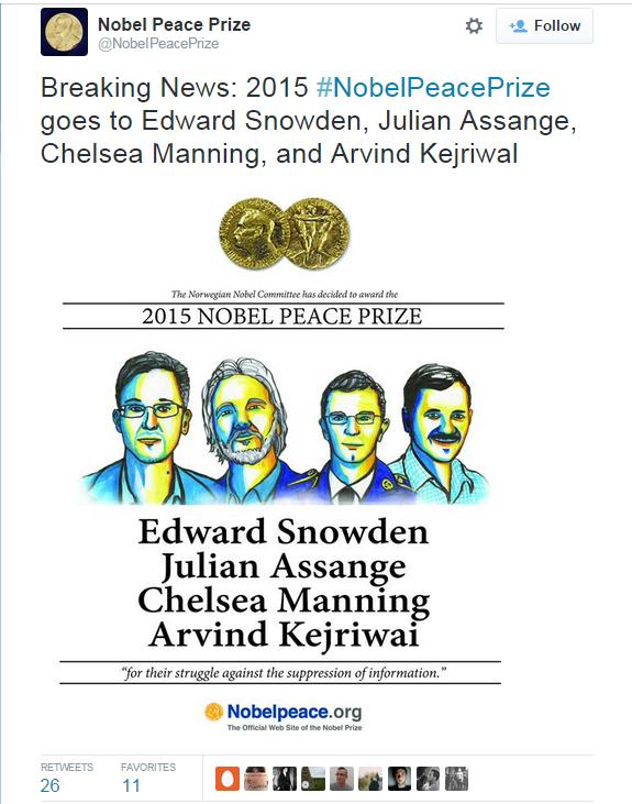 Nobel Troll via