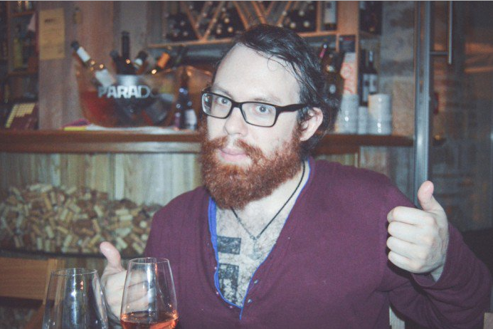"Dssk and Weev catch some drinks ""for the road"" prior to fleeing in an unmarked van. No, really."