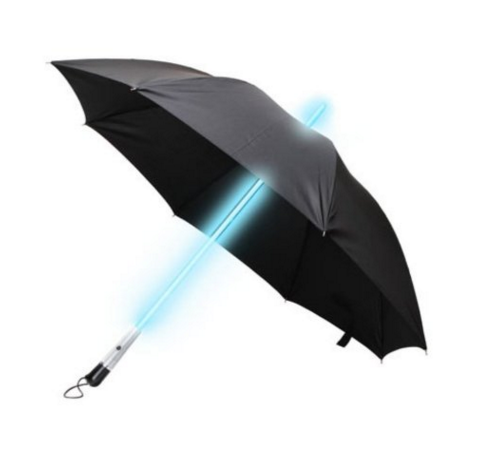 Light saber brolly