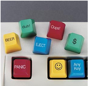 Novelty key caps
