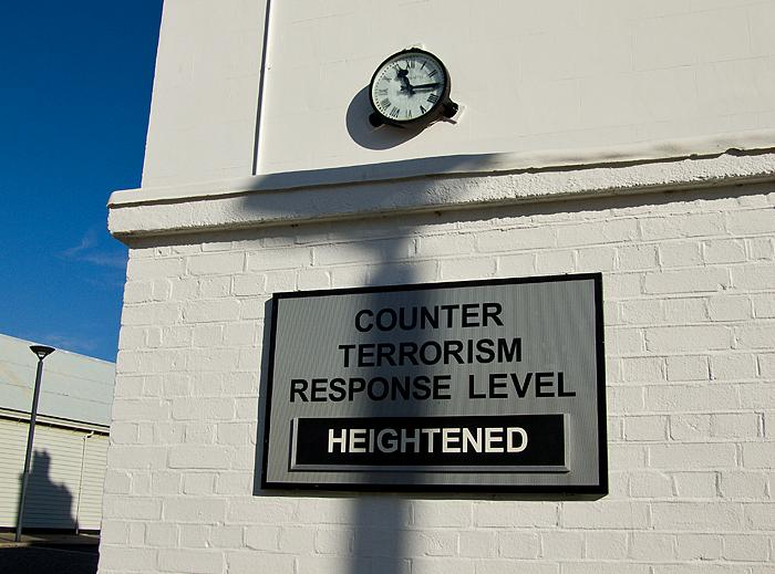 Counterterrorism response level heightened by Chris Beckett on Flickr