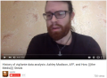 weev on History of vigilante data analysis: Ashley Madison, AFF, and How (((the Media))) Steals screenshot via YouTube