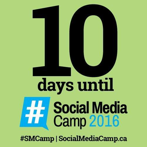 10 days to Social Media Camp